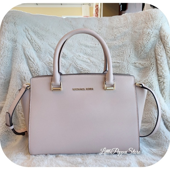 MICHAEL KORS SELMA MEDIUM SATCHEL BALLET NWT